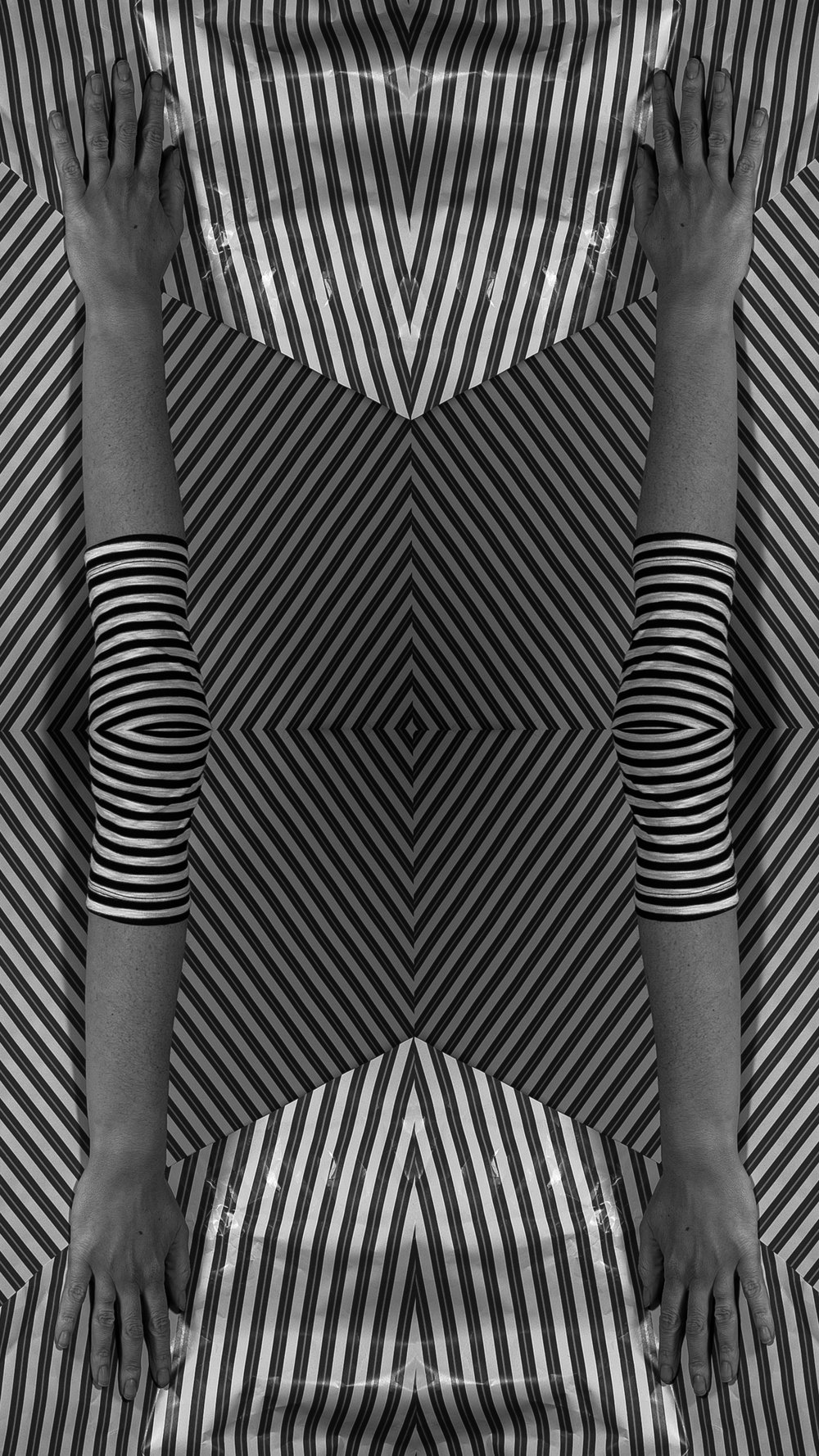 Illusion No. 2 from Mind Loop, 15 by 25 inches, Archival Pigment Print, 2018