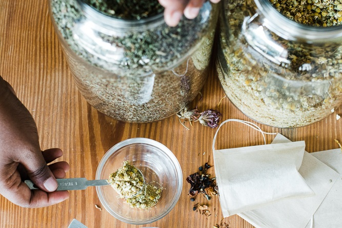 Wellness Inspired By You - Take a dive into custom teas, tinctures, meal and wellness plans.