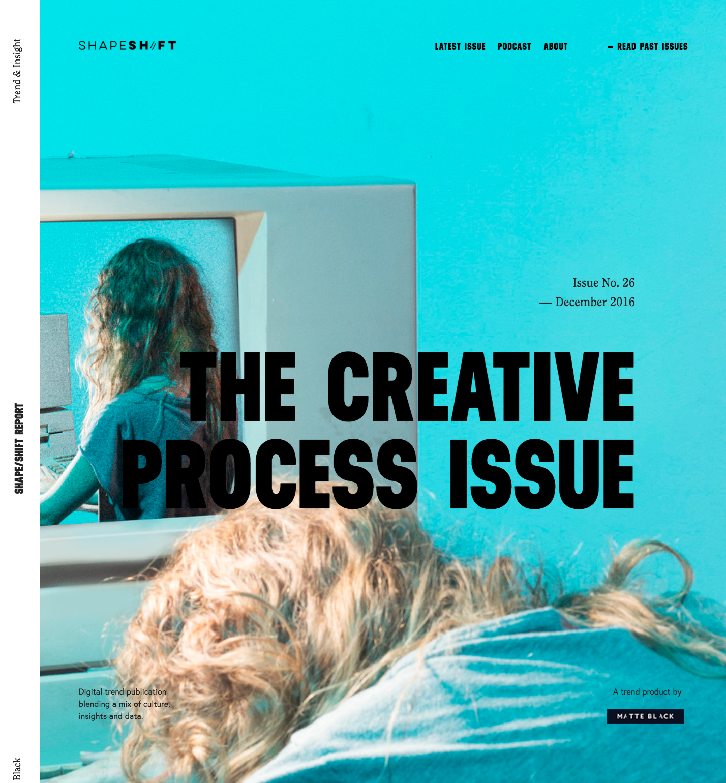 Issues — Shape Shift