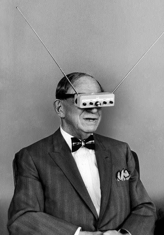 Hugo Gernsback's 1963 TV Glasses