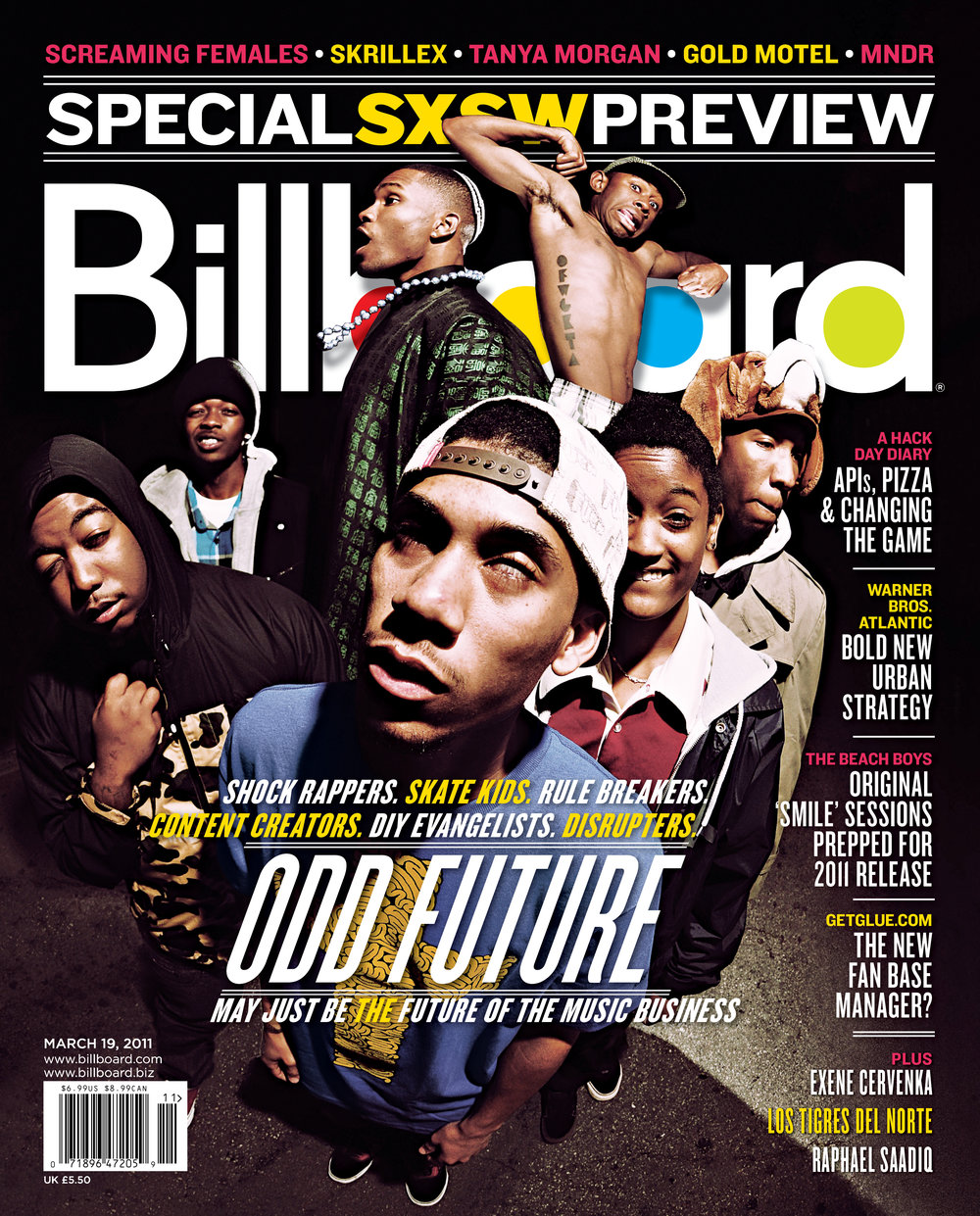 Julian's 2011 Billboard Magazine cover