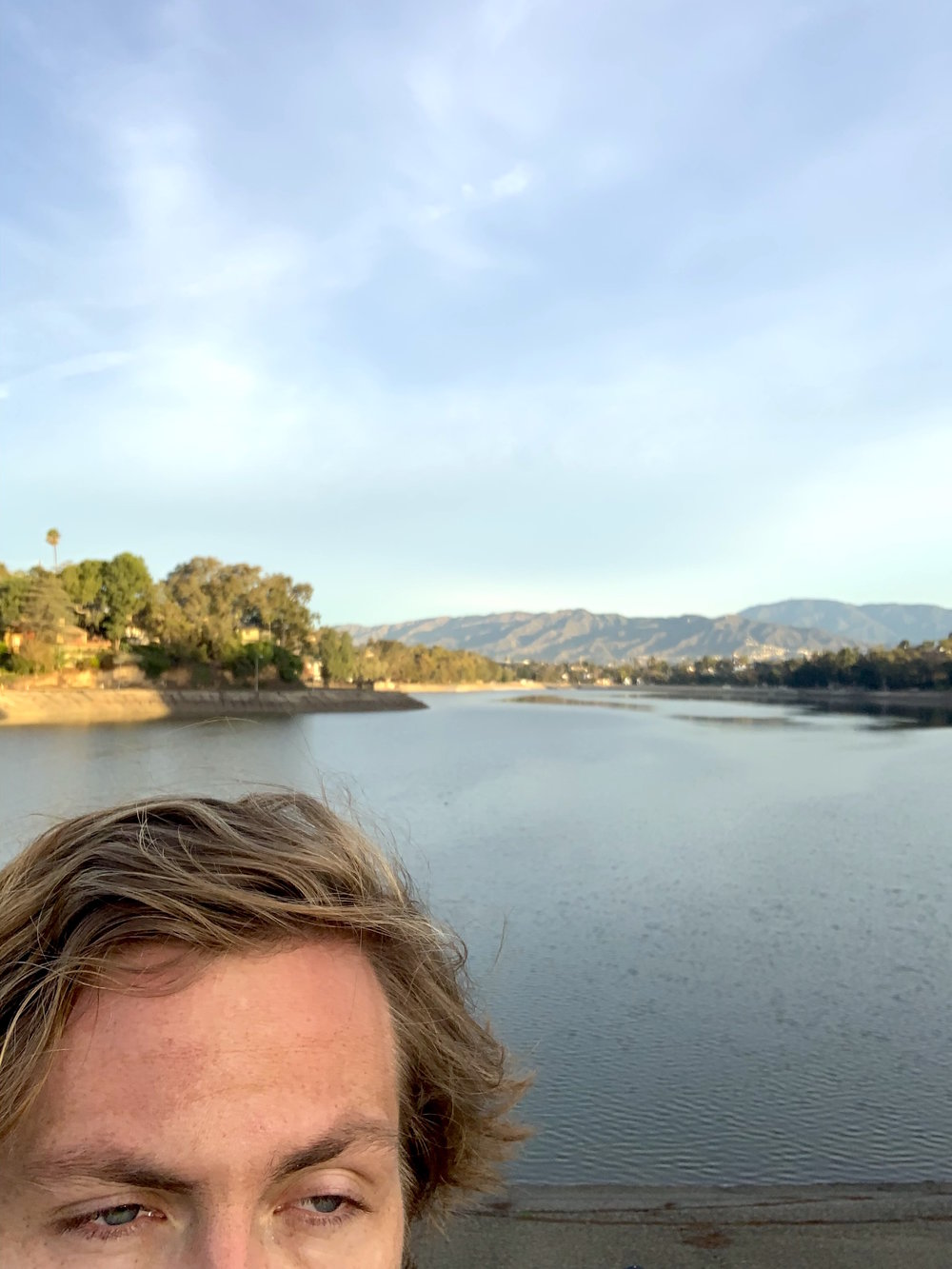 FIRST LAKE RUN SELFIE OF 2019.