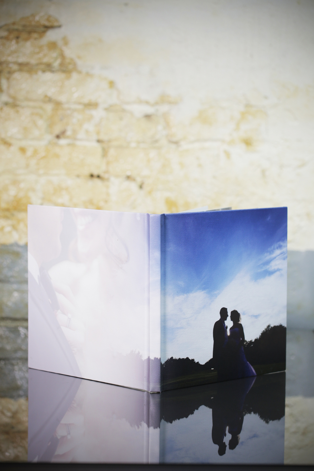 canvas or photo cover wrap around (half cover available)