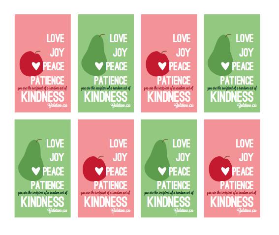 Screenshot I Love The Idea Of Random Acts Kindness