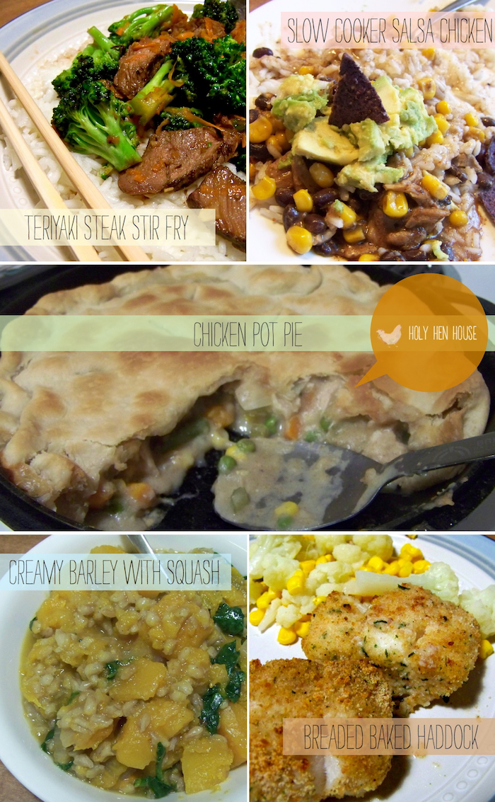 MarchMemorableMeals