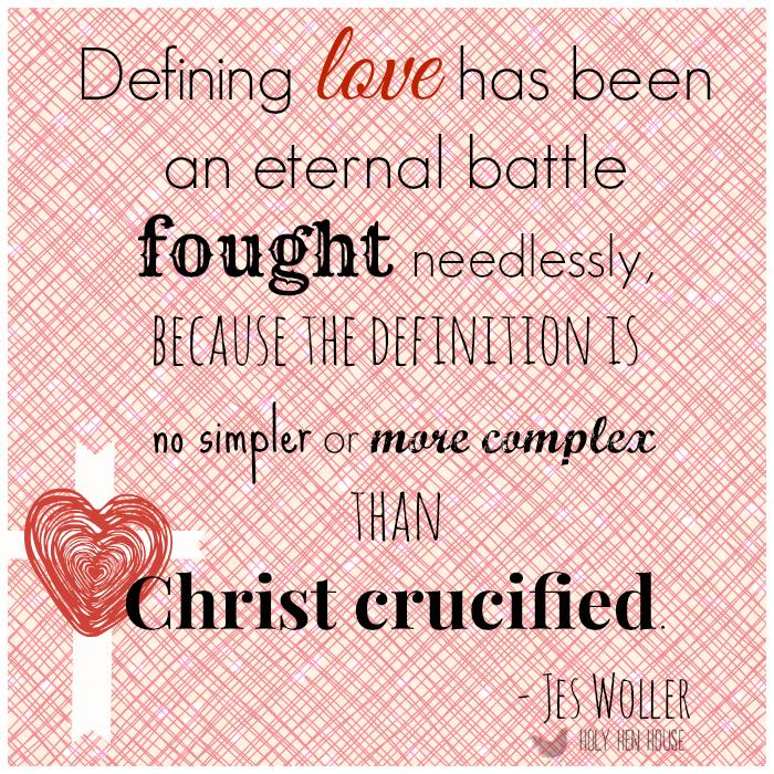 True love means sacrifice