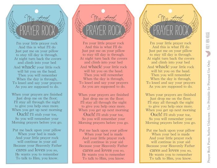 It is an image of Decisive Prayer Rock Poem Printable