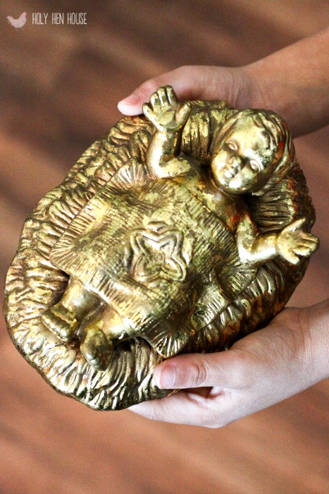 baby jesus gold hhh