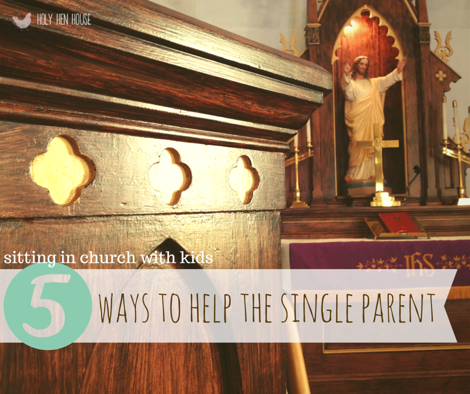 6 ways to help single parents