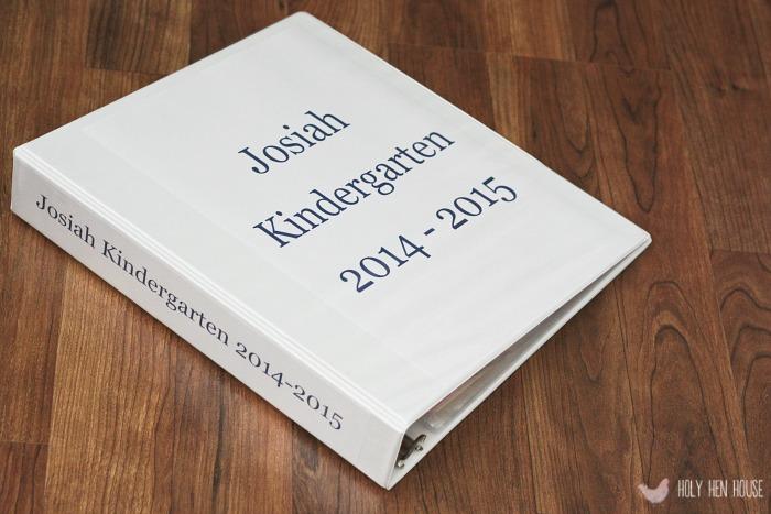 school papers binder hhh
