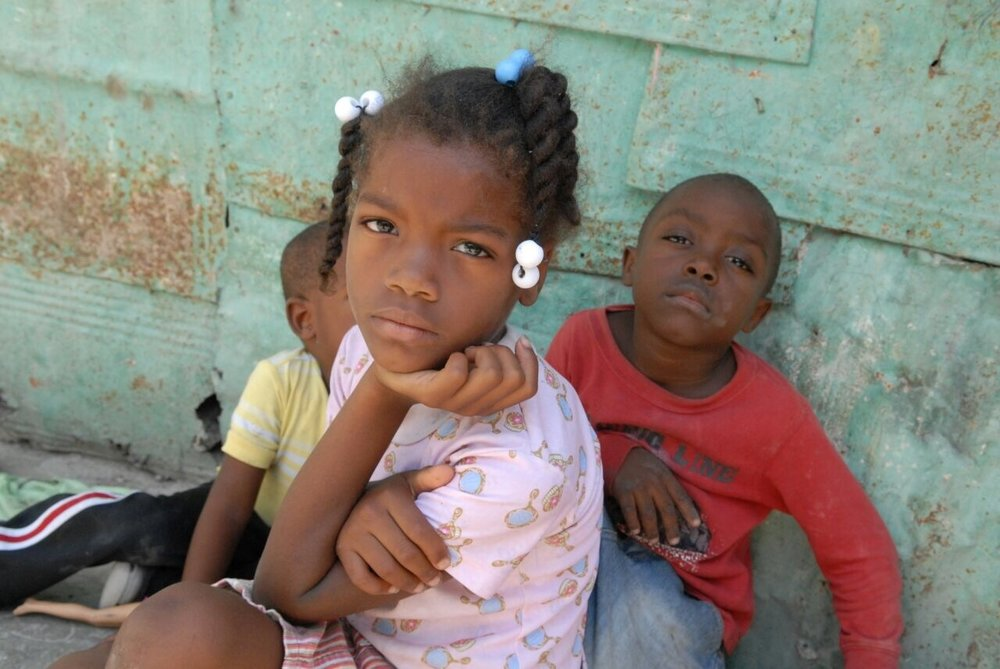 These children in Duvergé near Palmar de Ocoa are in need of a Re-Vision!