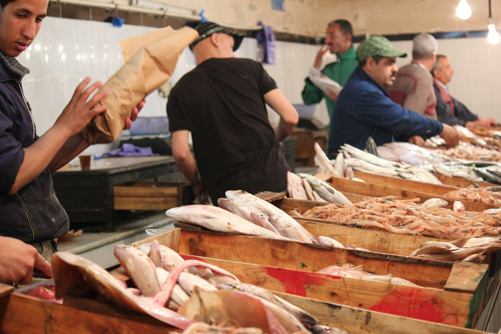 Fish market (photo credit @wardoutta)
