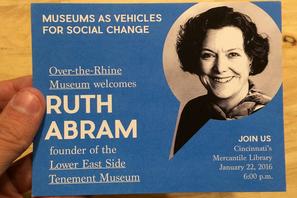 """""""Ruth J Abram Discusses Community Museums and Her Work in Historic Preservation"""" - WVXU 
