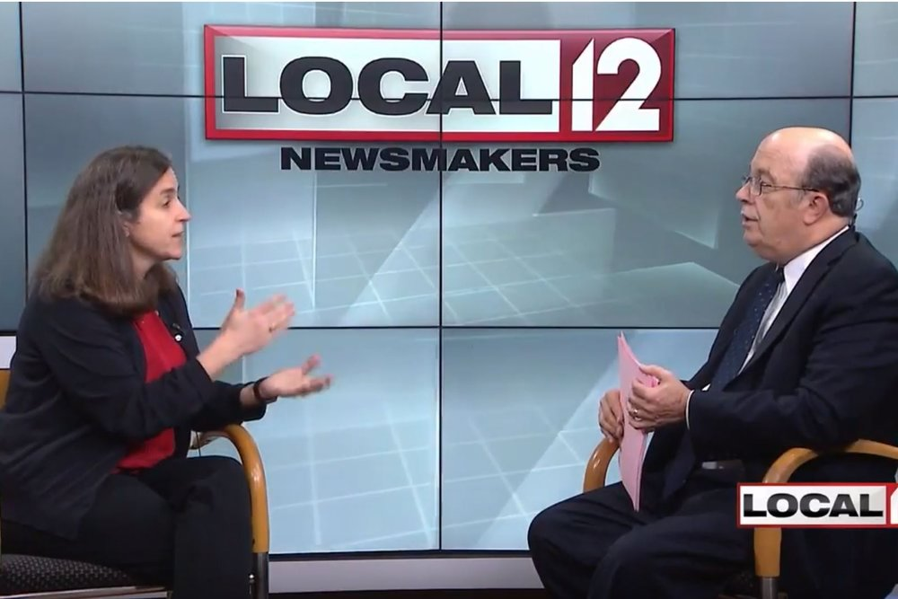 Local 12 Newsmakers Interview - WKRC | April 2, 2017Starting at minute 18:30, the Over-the-Rhine Museum's Board Chair, Anne Delano, shares with newscaster Dan Hurley and viewing Cincinnatians the latest on what the organization is up to.Click the title text to view the news recording.