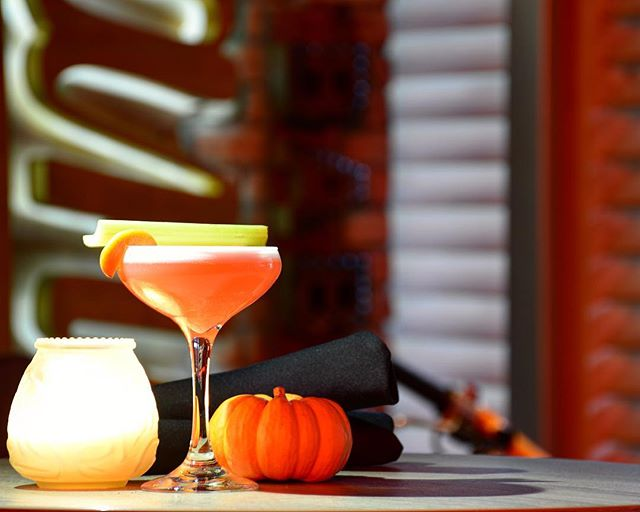 One of our new, fall cocktails #imnotyourbaby #cocktails