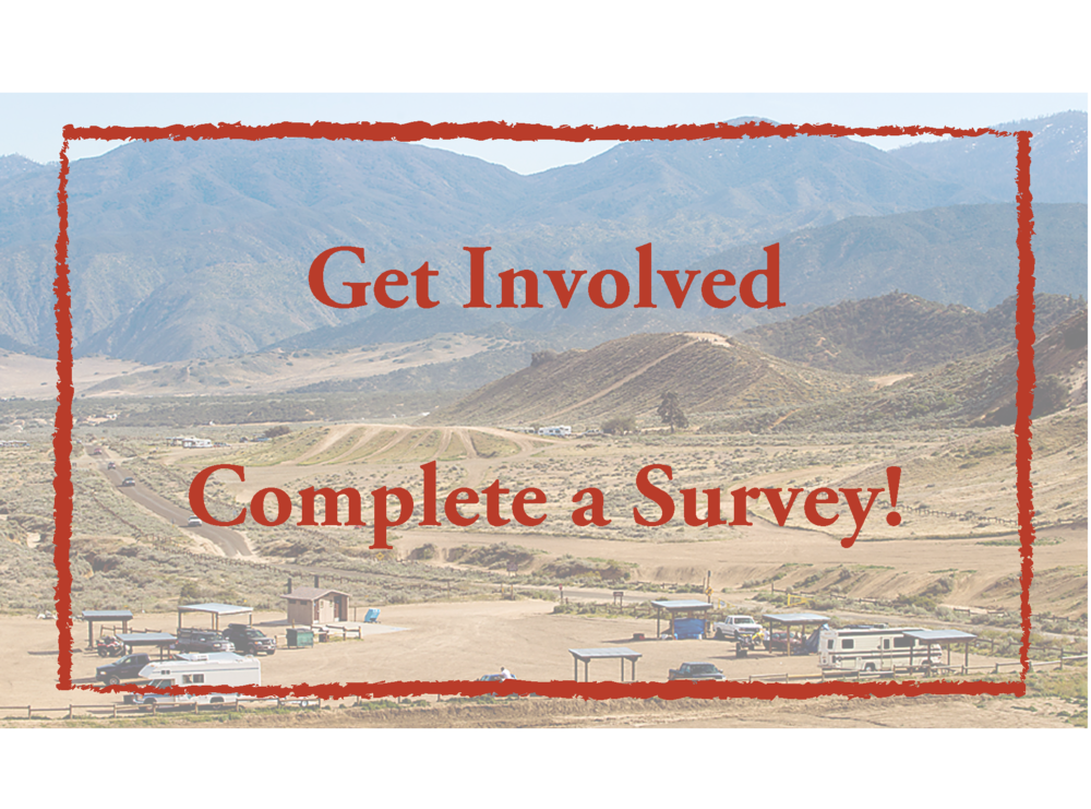 Get Involved - Complete a Survey