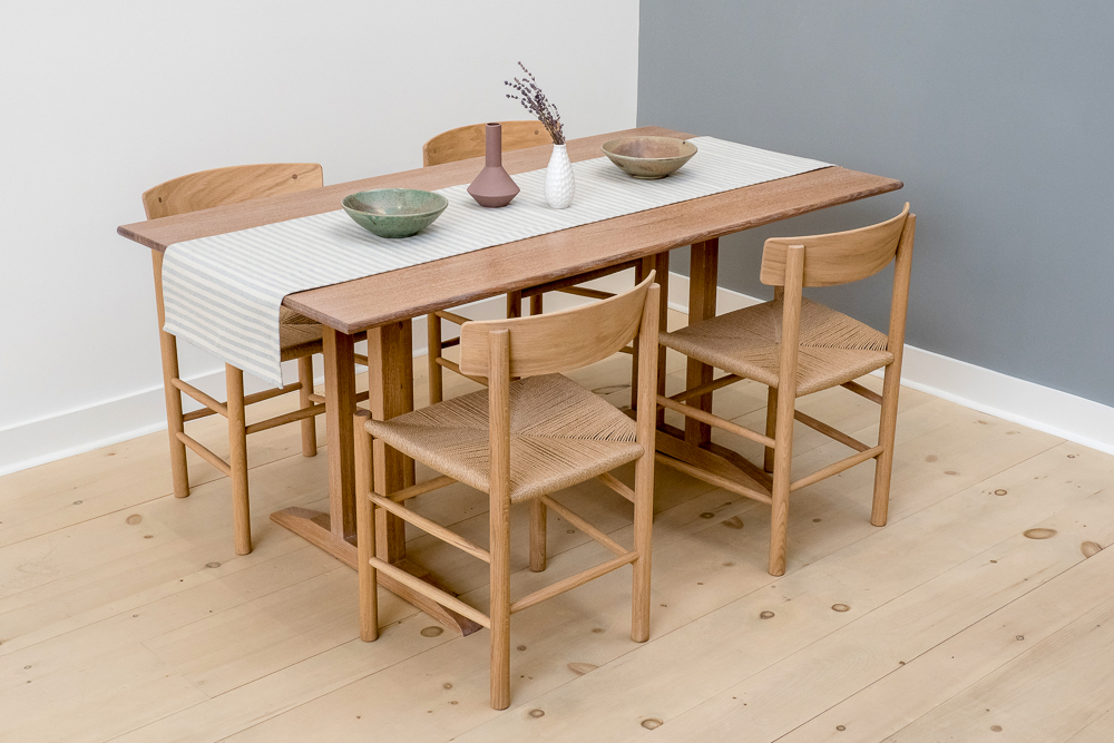 Atlantic Trestle Table  by Hey Porter