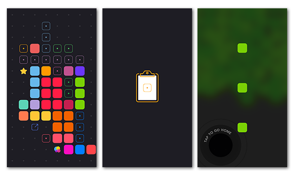 Blackbox iOS App Game Screenshots