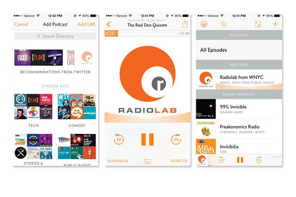 Overcast App Screenshots