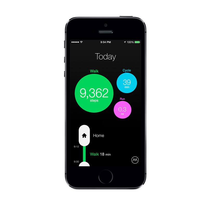 Moves App Screenshot