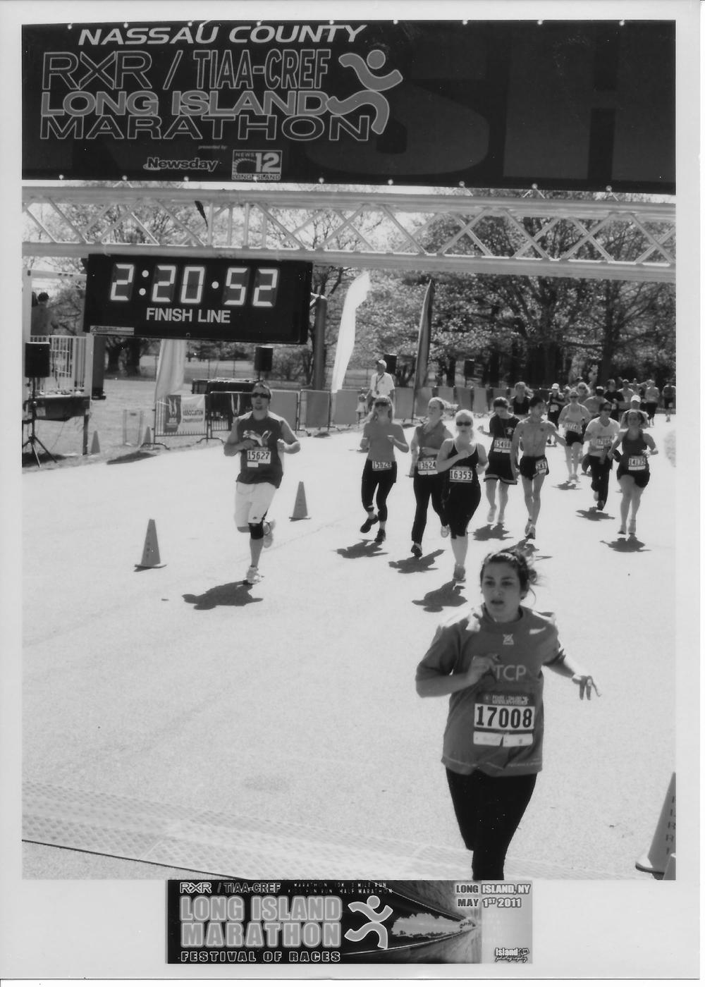 Not this kind of professional runner... I struggled through my first and only half marathon.