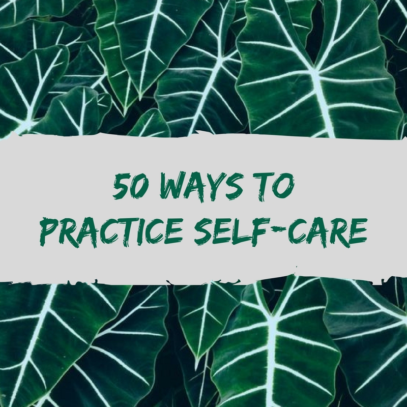 self-care for any budget