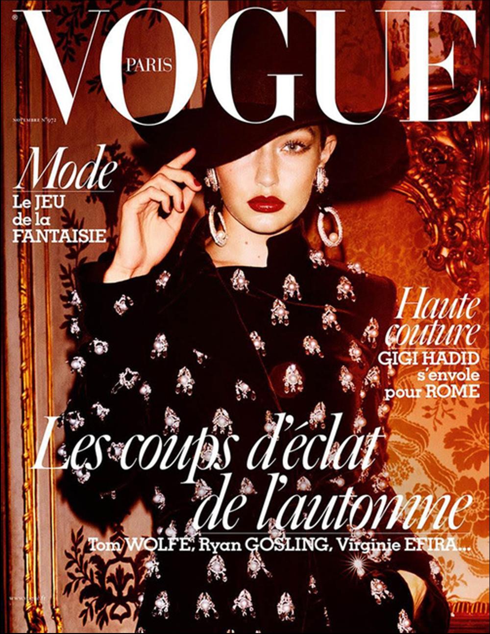 Vogue Paris Nov 2016