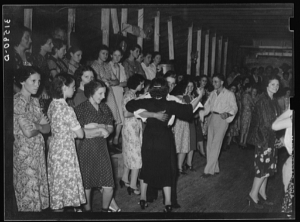 Fais Do-Do in Crowley, LA, 1938. Photo from Library of Congress by Lee Russell