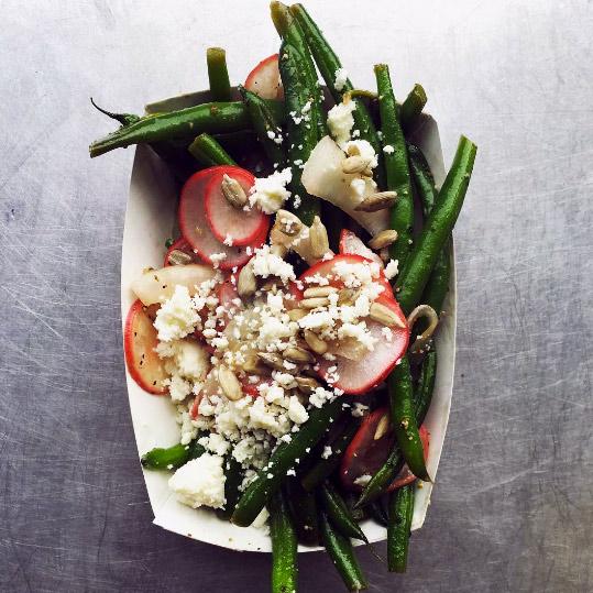 Green Bean Salad with Queso Fresco & Lemon
