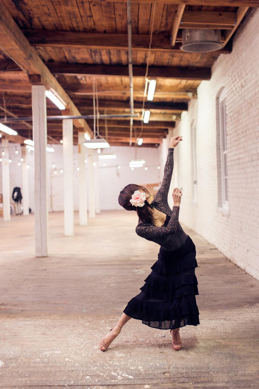 Dancer, Ivana Lo Piccolo Photo by:  Mia Artz Photography