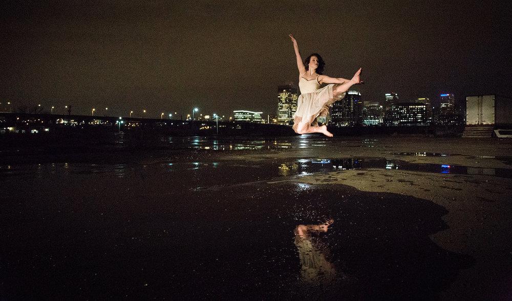 Dancer, Mary Petrizzi Photo by:  Mia Artz Photography