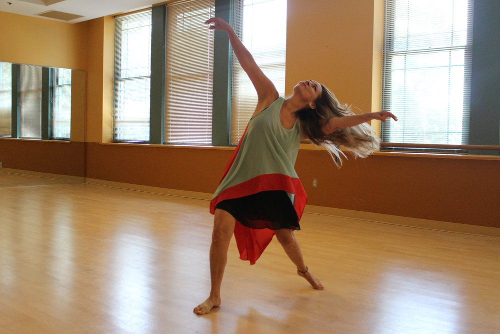 Ana showing her free spirit Photo by:  Jordan Hanna