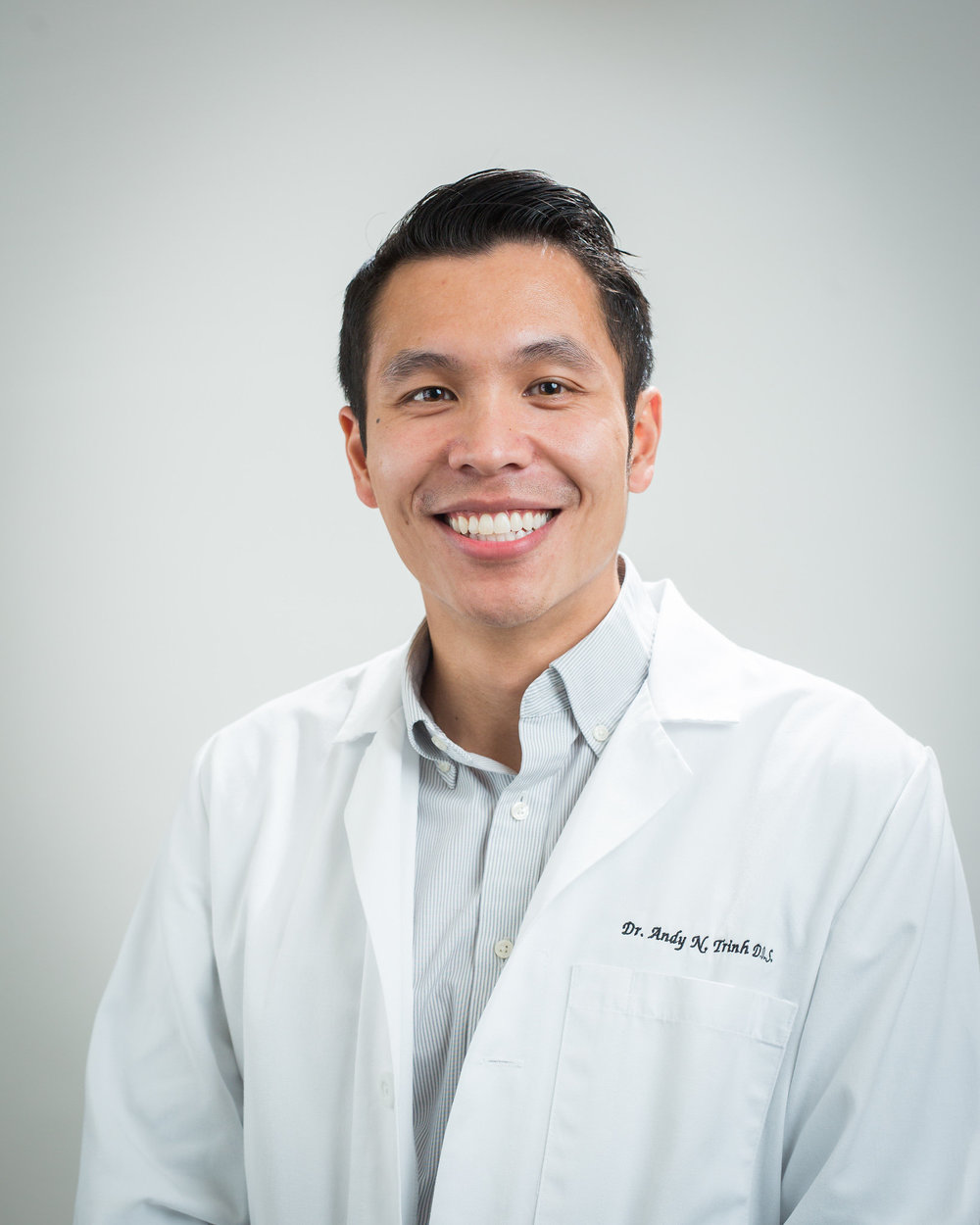Meet Dr. Andy Trinh at Totem Lake Dental in Kirkland, WA.
