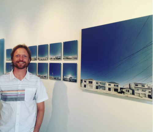 Art Span's Spencer Aldworth Brown's unique take on San Francisco's cityscapes and telephone wires at Mullen Brothers Imaging, 2040 Oakdale! Displayed at 1540 Market.