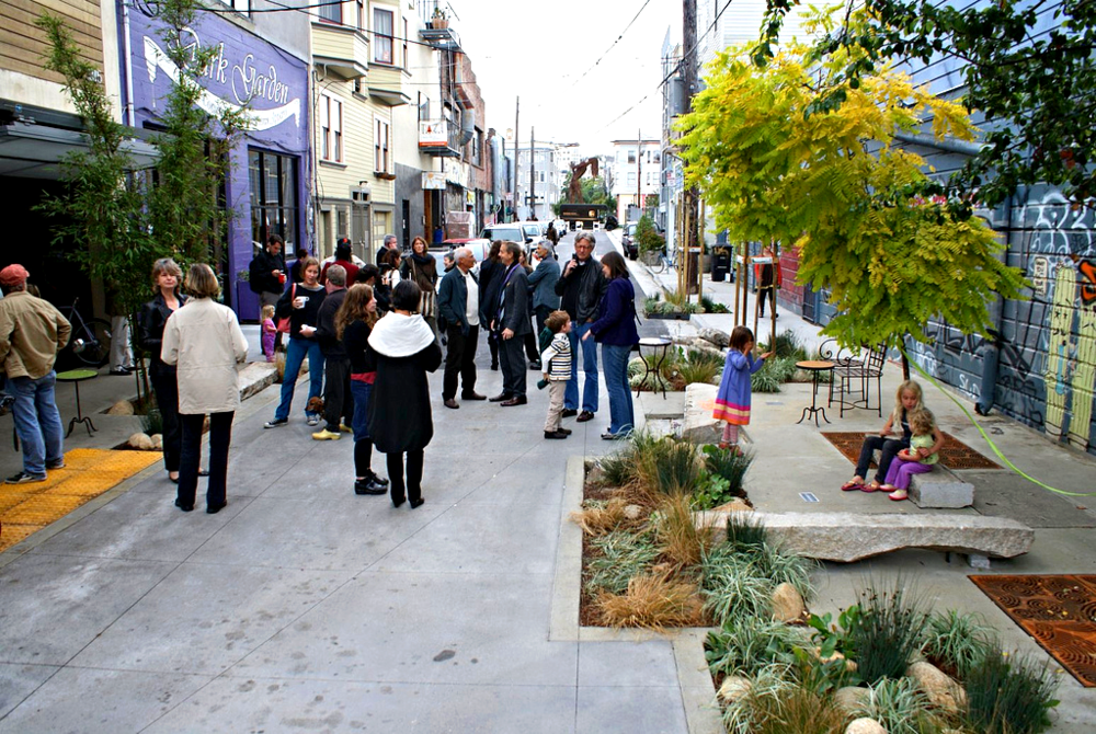 Linden Alley, San Francisco