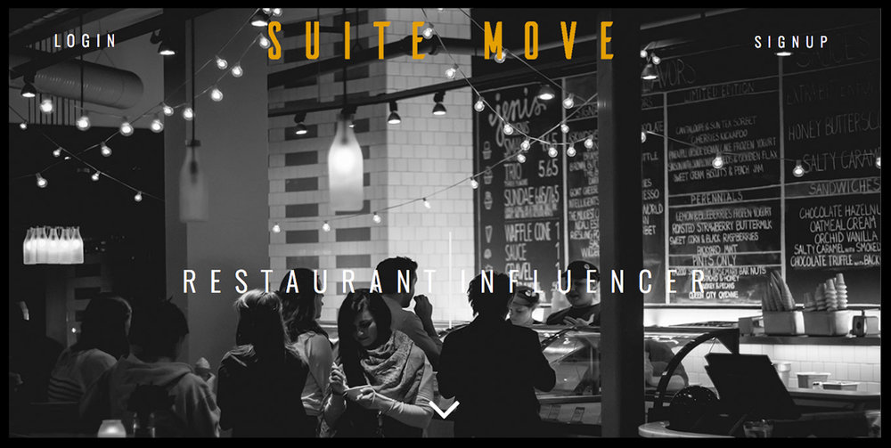 Suite Move - Instagram Influencer MarketplaceCustom Design and PHP DeveleopmentConcept to Completion and Launch Strategy