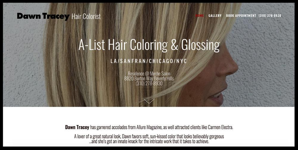Dawn Tracey Hair -
