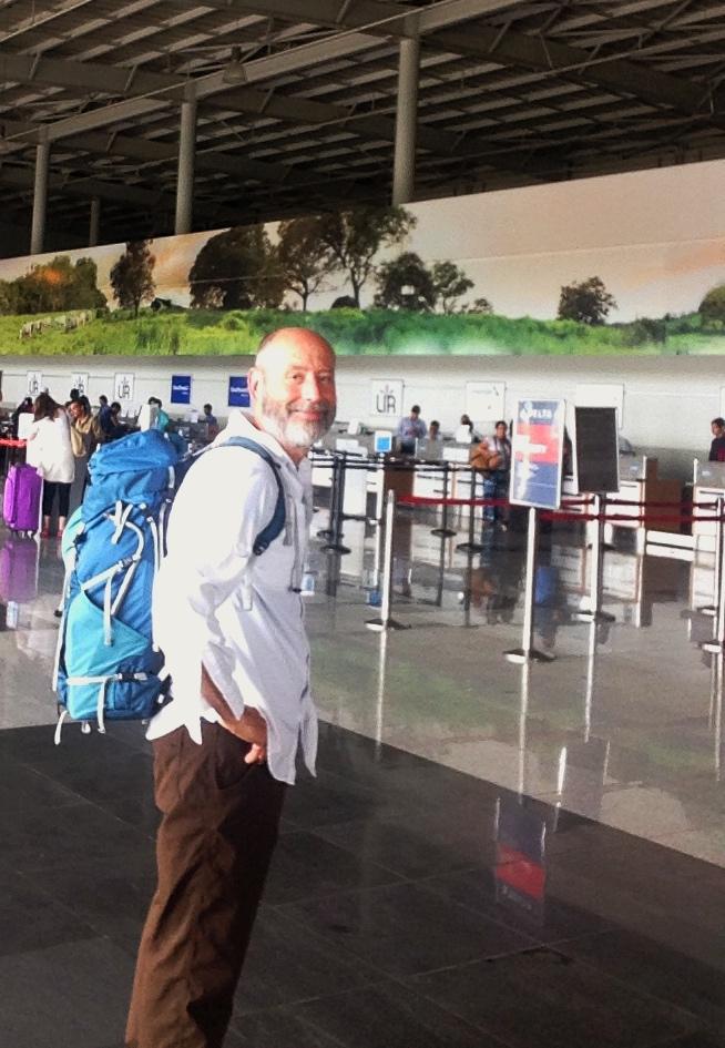 Bald Guy at Aeropuerto Internacional Daniel Oduber Liberia, Guanacaste