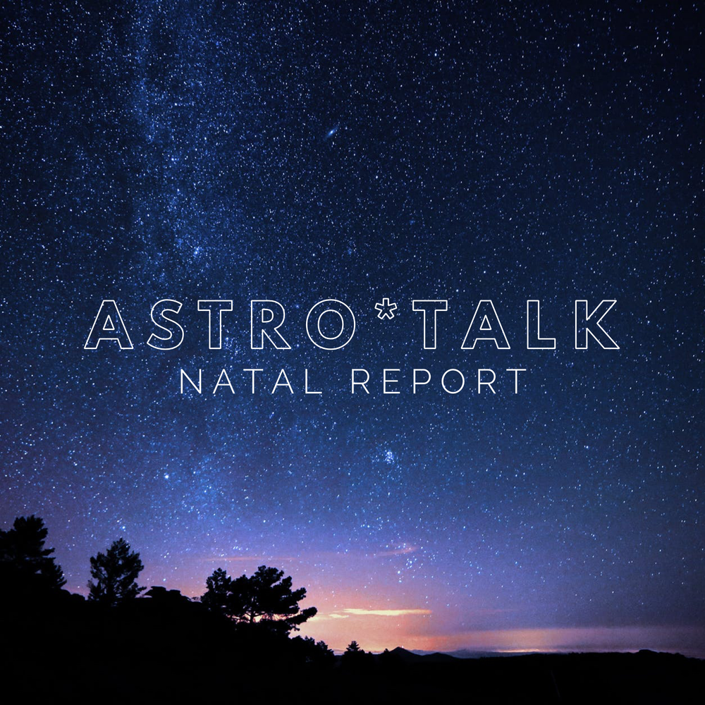 Astro*Talk Astrology Report