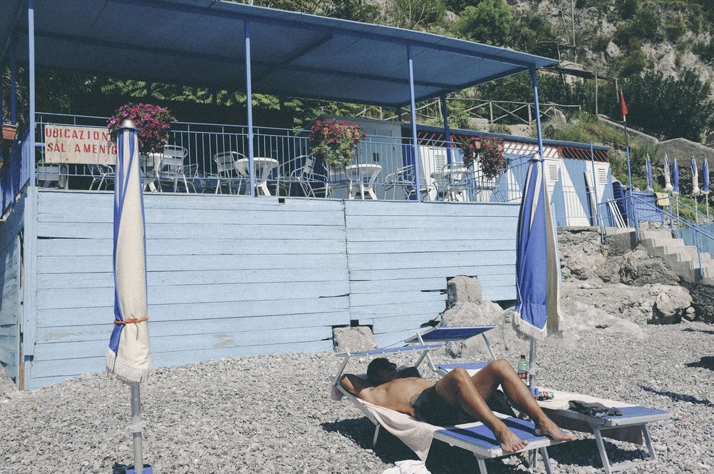 secret beach, amalfi coast - www.derrive.com