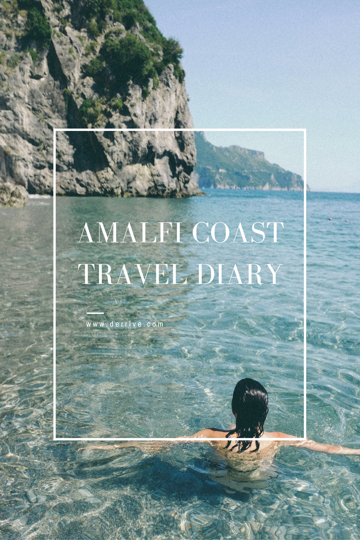 amalfi coast travel diary