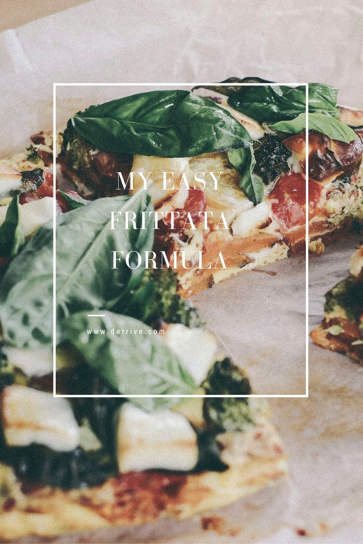 my easy frittata formula