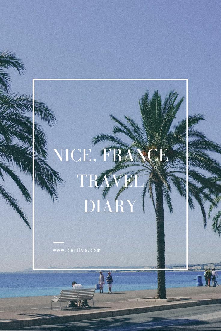 dérrive - nice, france travel diary