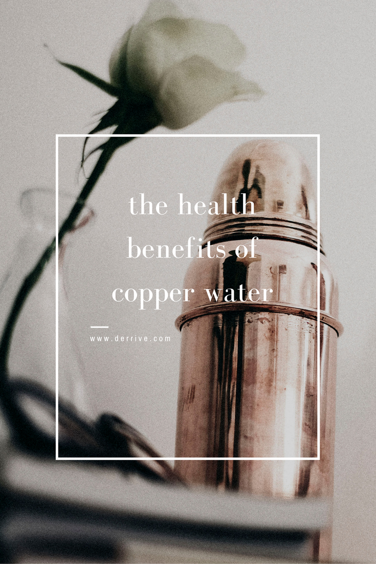 the health benefits of copper water www.derrive.com