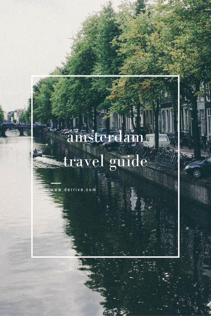 amsterdam travel guide www.derrive.com