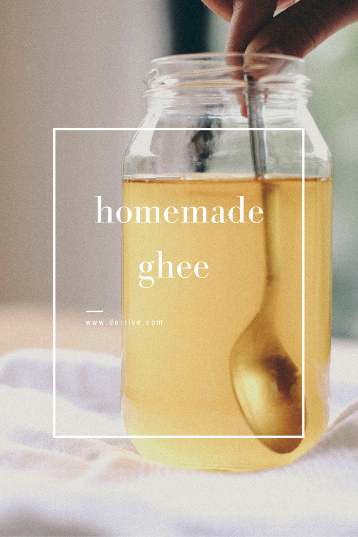 homemade ghee recipe - www.derrive.com