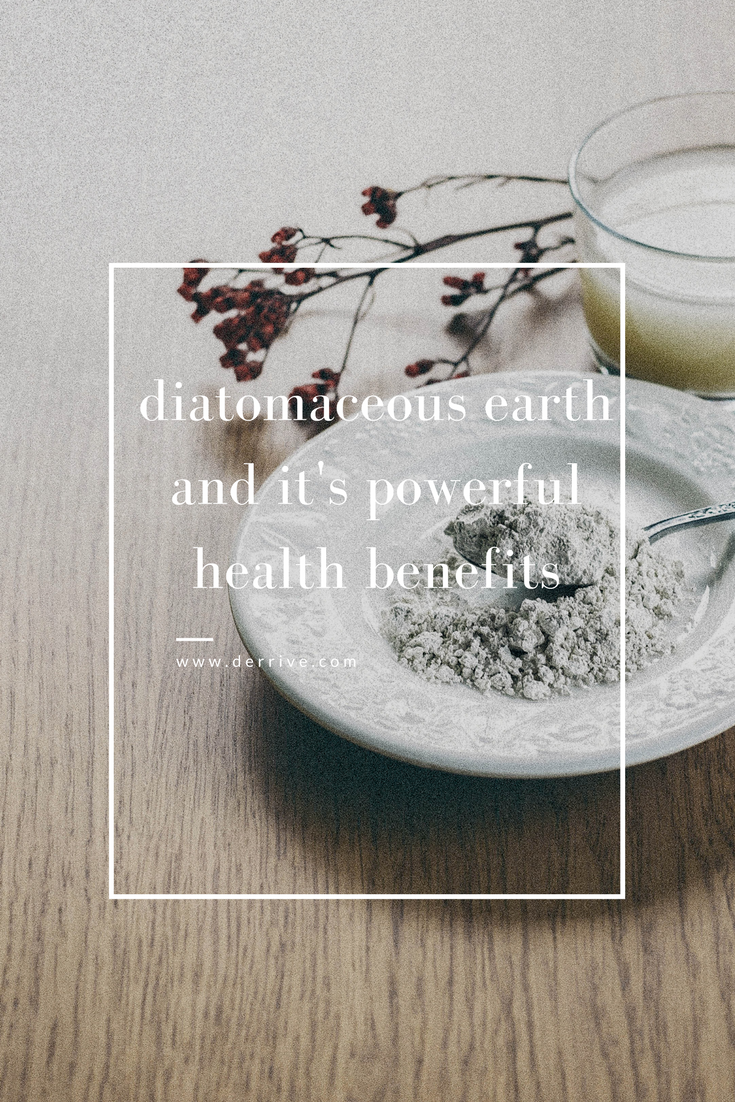 the powerful health benefits of diatomaceous earth! #diatomaceousearth #health #wellbeing #guthealth #detox #weightloss #antiaging #silica www.derrive.com