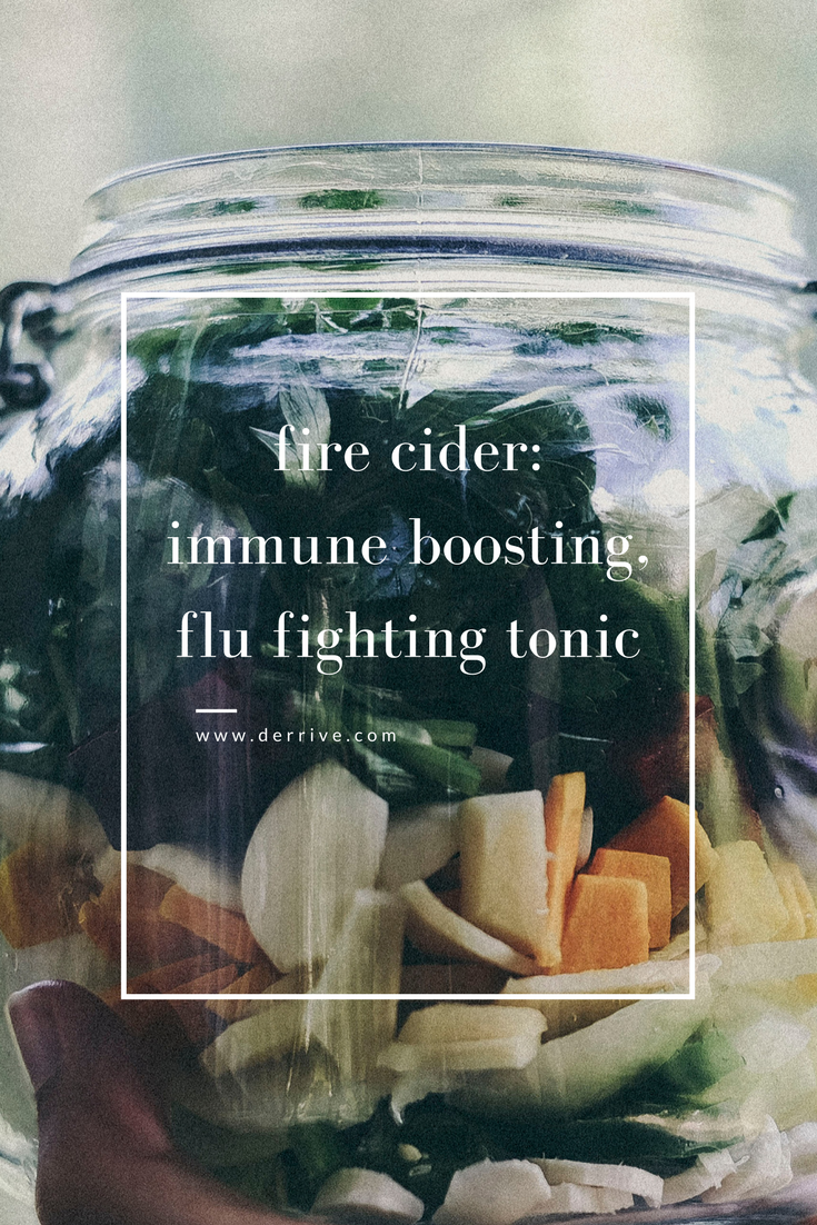 fire cider: immune boosting, flu fighting tonic #firecider #tonic #health #wellness #detox #immueboost #flufighter