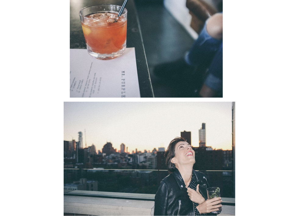 dérrive travel - mr purple rooftop bar, new york #soho #dumbo #newyork #nyc #brooklyn