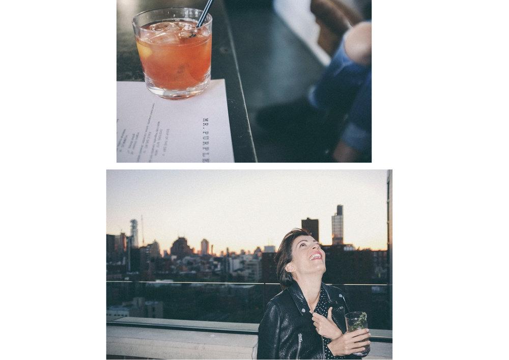 dérrive travel - mr purple rooftop bar, new york #soho #dumbo #newyork #nyc #brooklyn